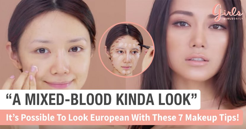 Oh This Is How You Create The Asian European Mixed Blood Look Girlstyle Singapore
