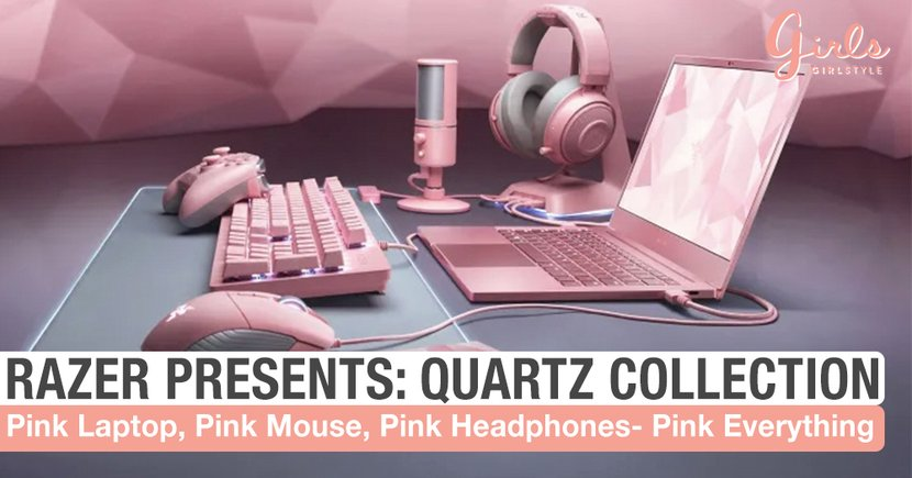 Razer Just Dropped The Complete Quartz Collection & It's Pretty In Pink