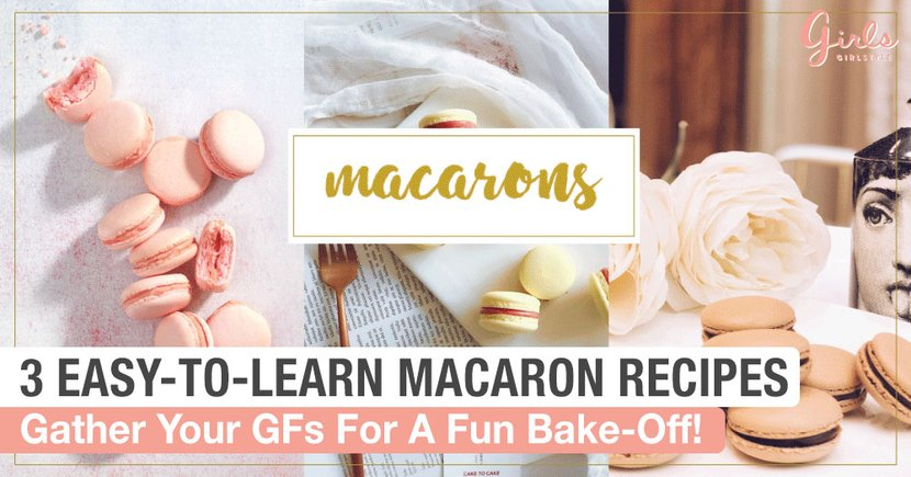 The Making of Macarons (Sucre Cuit Style) - Dessert First |Girl Baking Macarons