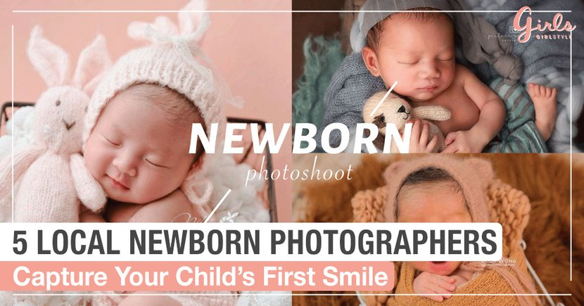 5 Local Newborn Photographers To Capture The Precious Moments Of Your Little One