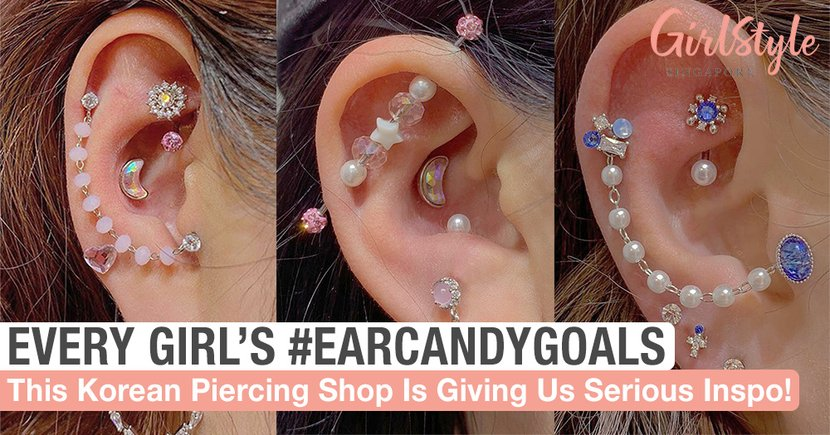 This Korean Piercing Shop Is Giving Us Serious Ear Candy Goals