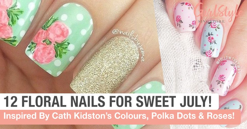 12 Cath Kidston #Nailspiration For A Sweet Sweet July