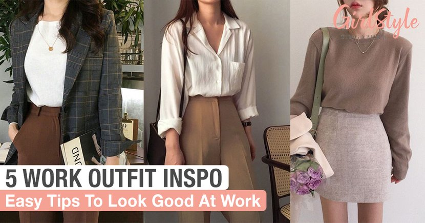 5 Work Outfit Inspo Ideas For Days You Just Don't Want To Think