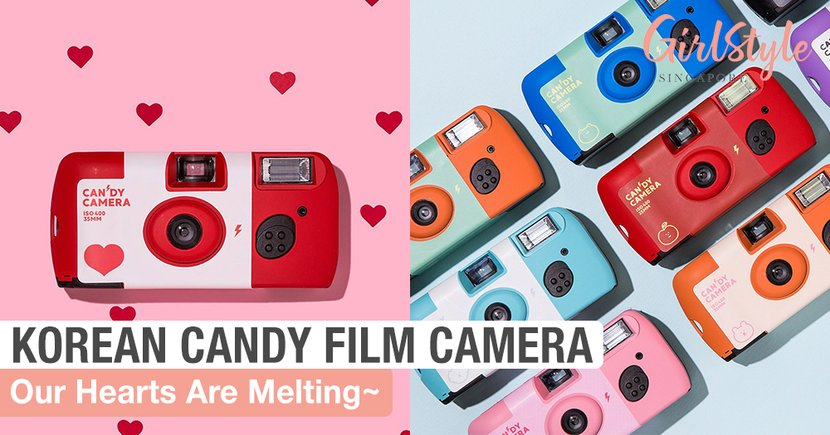 Our Hearts Are Melting For These Korean Candy Film Cameras