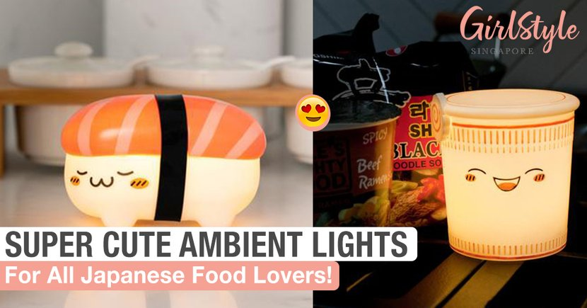 Cute Ambient Lights Perfect For All Japanese Food Lovers!