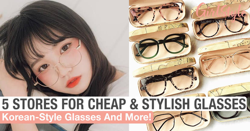 Where To Buy Affordable & Stylish Glasses In Singapore