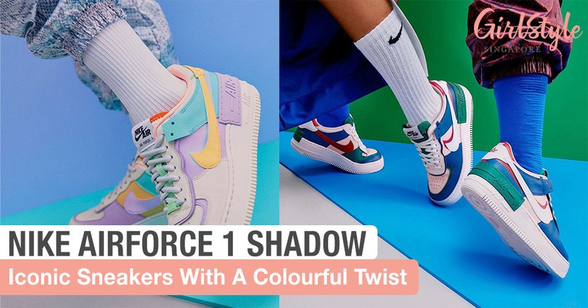 Turn Heads With These New Nike Air Force 1 Shadow Kicks