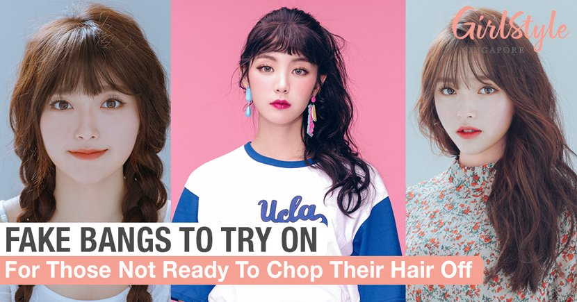 Fake Bangs To Try On If You Are Not Ready To Chop Your Hair Off