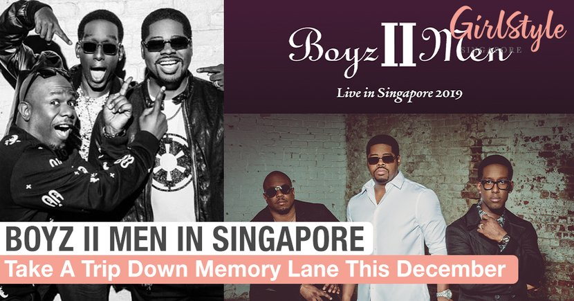 Take A Trip Down Memory Lane With Boyz II Men In December