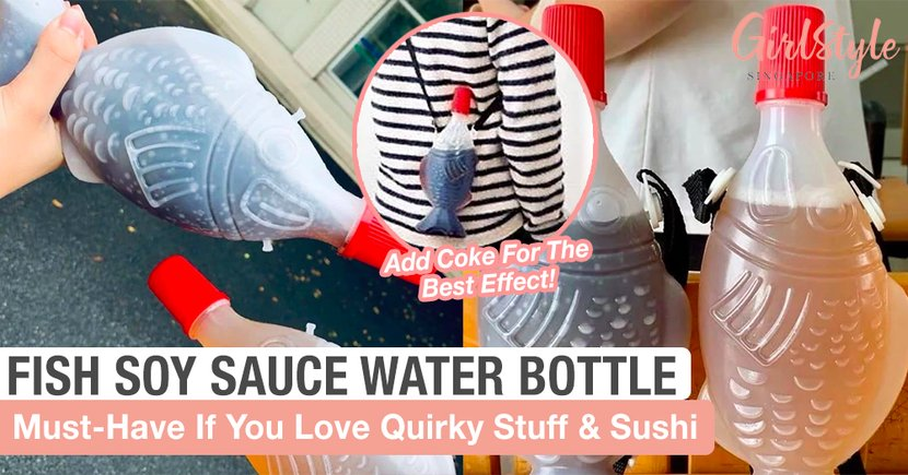 This Quirky Fish Soy Sauce Water Bottle Is A Must-Have If You Love Sushi & Sashimi