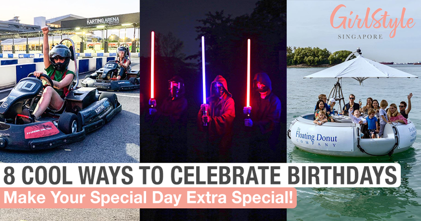 8 Cool Ways To Celebrate Your Birthday In Singapore