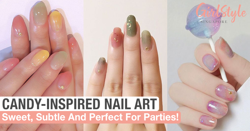 Candy-Inspired Nail Art For Parties
