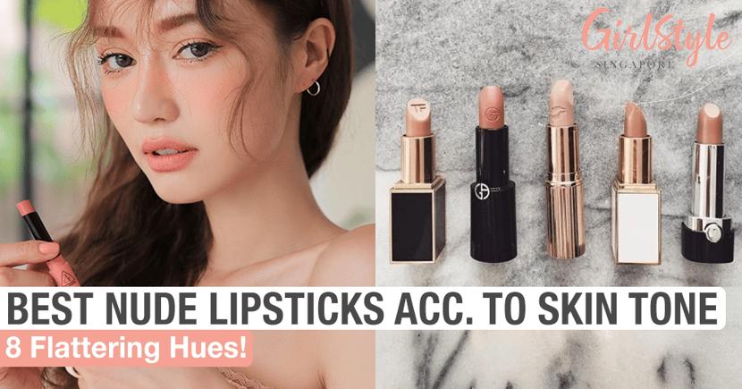 A nude lipstick curation for fair to medium-deep skin