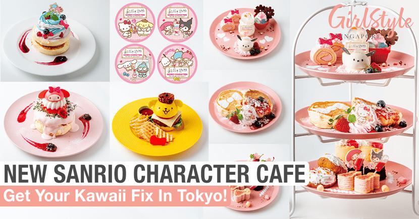 Kawaii Treats At New Sanrio Characters Collaboration Cafe In Tokyo