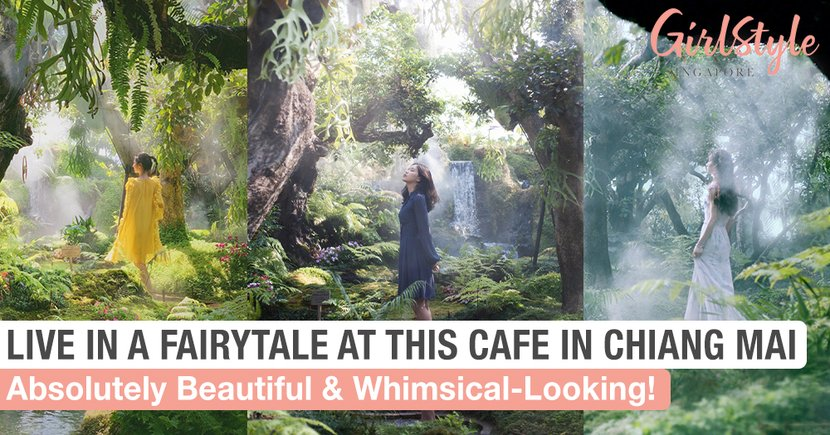 Live In A Fairytale At This Beautiful & Whimsical-Looking Cafe In Chiang Mai, Thailand