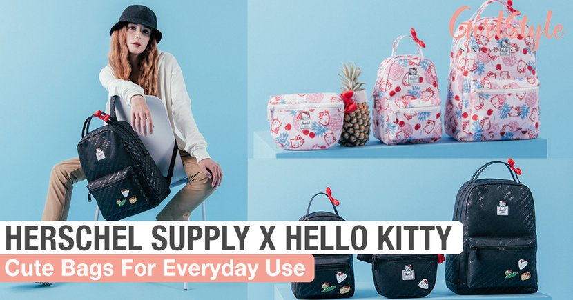 Herschel Supply X Hello Kitty: The Cutest Bags For Everyday Use