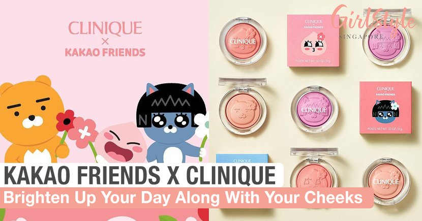 These KAKAO FRIENDS X Clinique Blushers Will Brighten Up Your Cheeks And Day