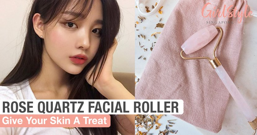 Treat Your Skin By Incorporating A Rose Quartz Facial Roller Into Your Routine