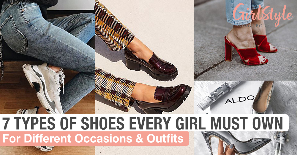 Shoes Every Girl Must Own For Different