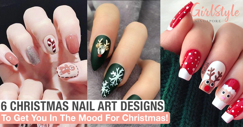 The Best Christmas Nail Designs