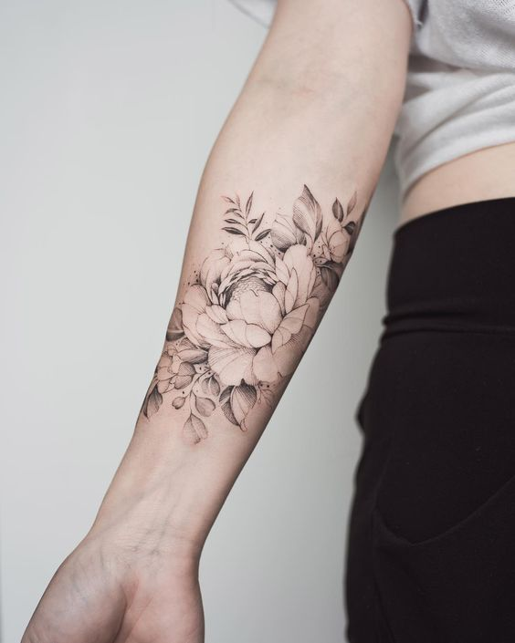 forearm tattoo
