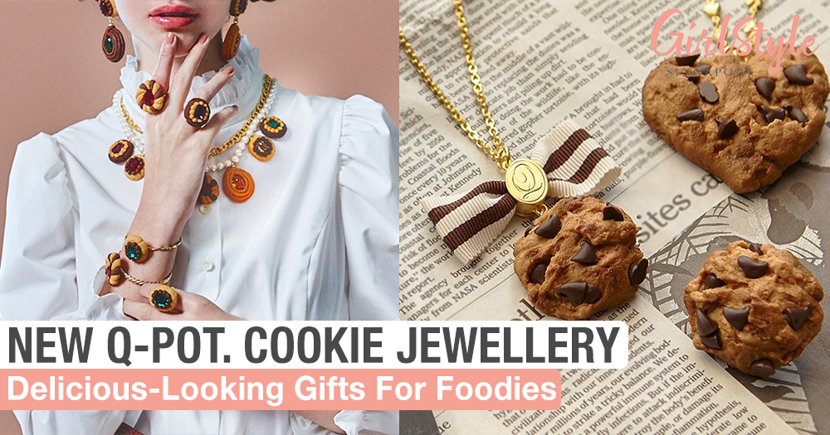 Realistic-Looking Cookie Jewellery By Q-Pot.