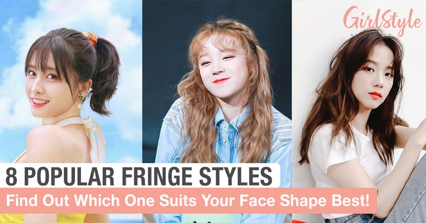 8 Fringe Styles To Cut According To Your Face Shape