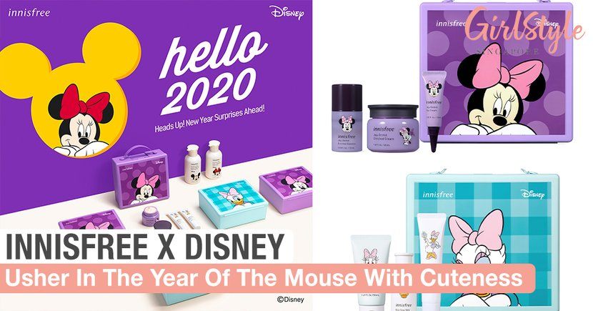 Usher In The Year Of The Mouse With innisfree's HELLO 2020 Disney Collection