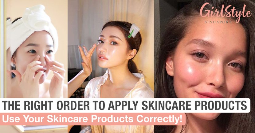 This Is The Right Order To Apply Your Skincare Products