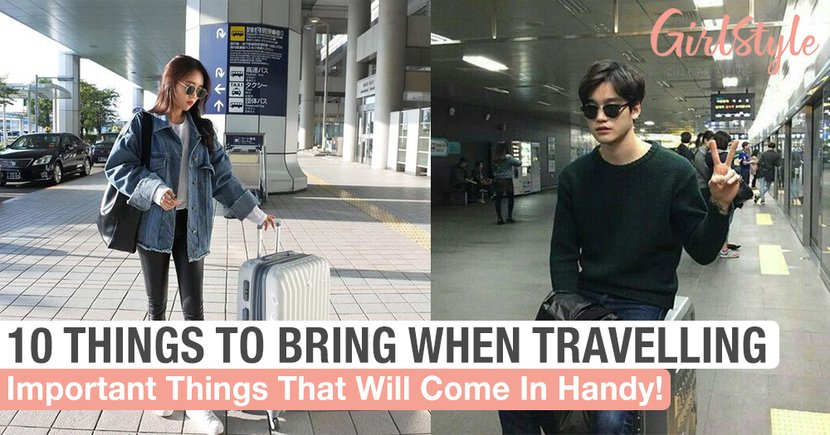 10 Things You Will Need & Must Bring With You When Travelling