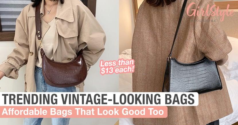 Get These Trending Vintage-Looking Bags Under $13 Each