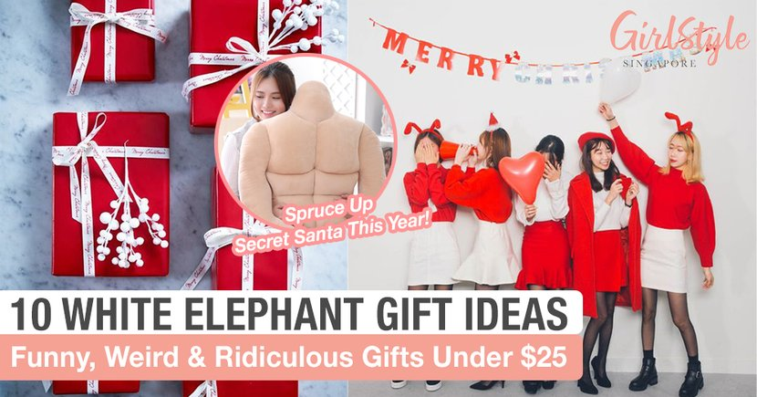 10 White Elephant Gift Ideas Under 25 Girlstyle Singapore