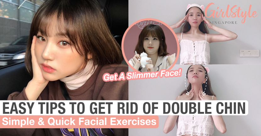 Easy Facial Exercises To Reduce A Double Chin