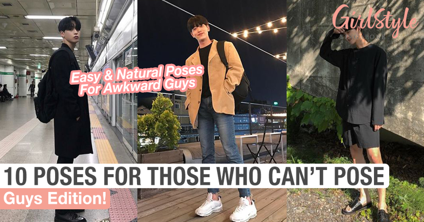 10 Easy & Natural Poses For Guys Who Are Awkward In Front Of The Camera
