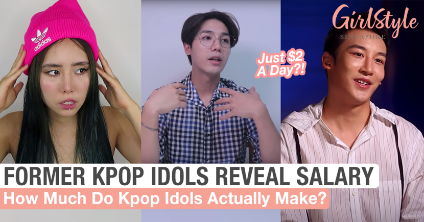 Kpop Idol Salary Revealed Former Kpop Idols Girlstyle Singapore