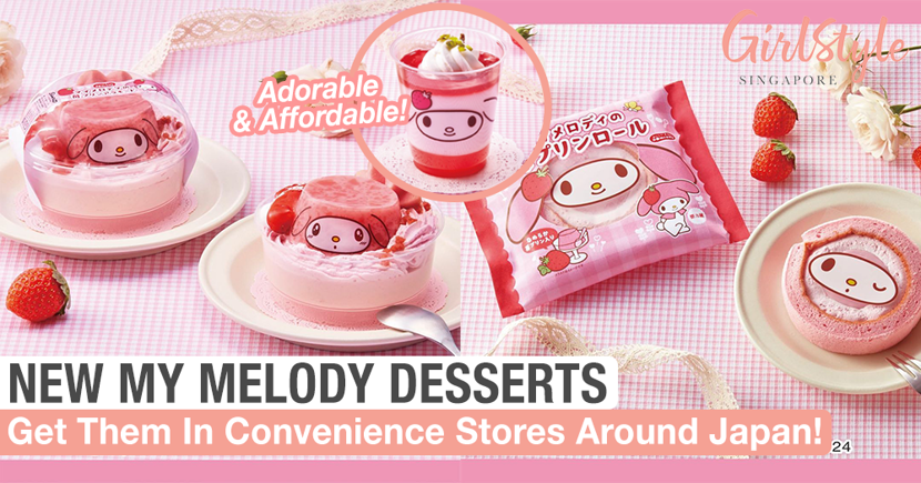 New My Melody Desserts In Japan's Convenience Stores