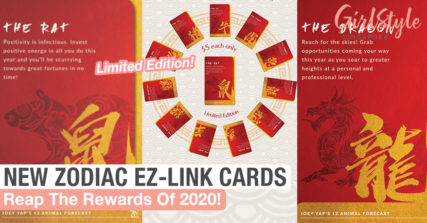 Get Your Paws On The New Chinese Zodiac Forecast EZ-Link Cards
