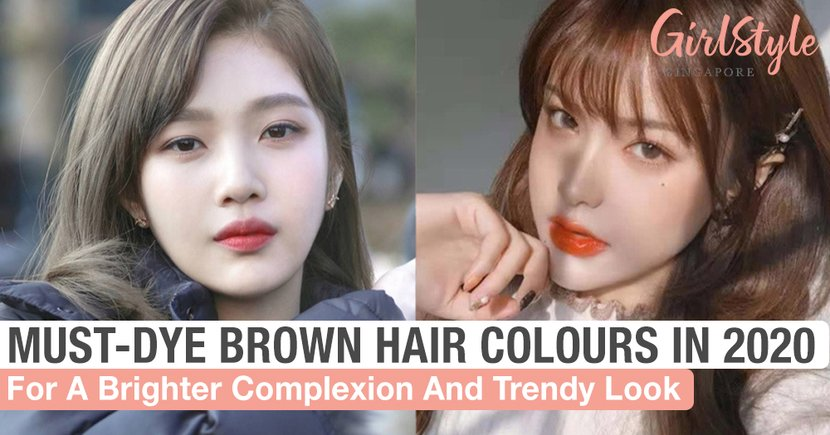 Must-Dye Brown Hair Colours In 2020 For A Brighter Complexion & Trendy Look