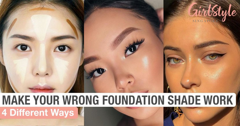 Here Are 4 Different Ways To Make Your Wrong Foundation Shade Work