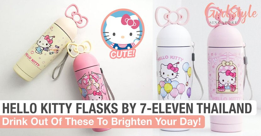 Drink Out Of These Adorable Hello Kitty Flasks By 7-Eleven Thailand To Brighten Your Day!