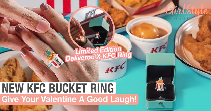 Put A Deliveroo X KFC Ring On It This Valentine's Day