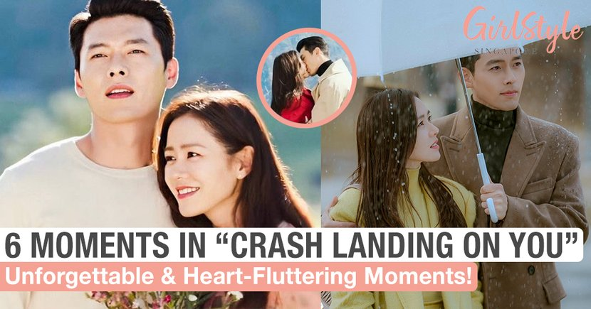 "6 Unforgettable & Heart-Fluttering Moments In ""Crash Landing On You"""
