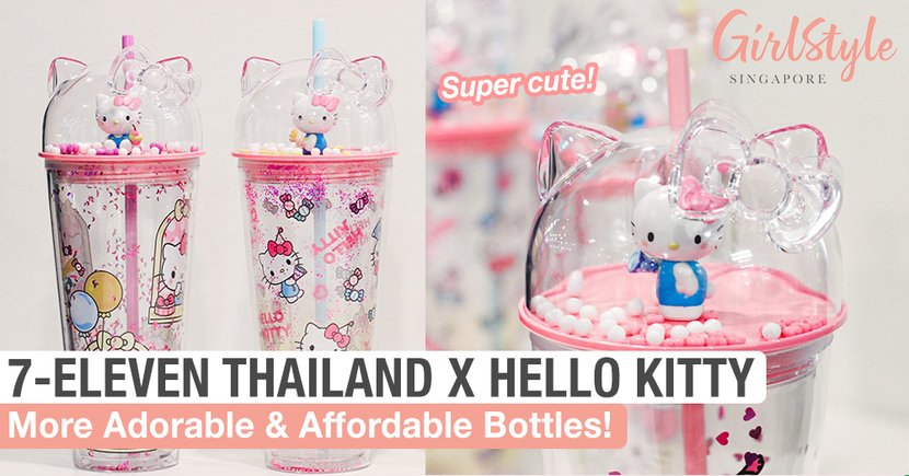 7-Eleven Thailand Is Back With More Adorable & Affordable Hello Kitty Bottles