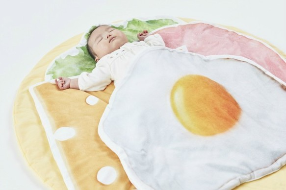 Creema savoury crepe with egg