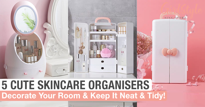 Cute Skincare Storage Units To Get Organised Decorate Your Room Girlstyle Singapore