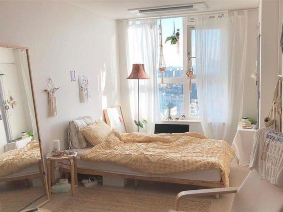 Korean-Style Bedroom: How To Nail The Cosy & Minimalist ...