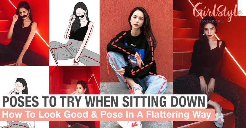How To Look Good And Pose In A Flattering Way When Sitting Down