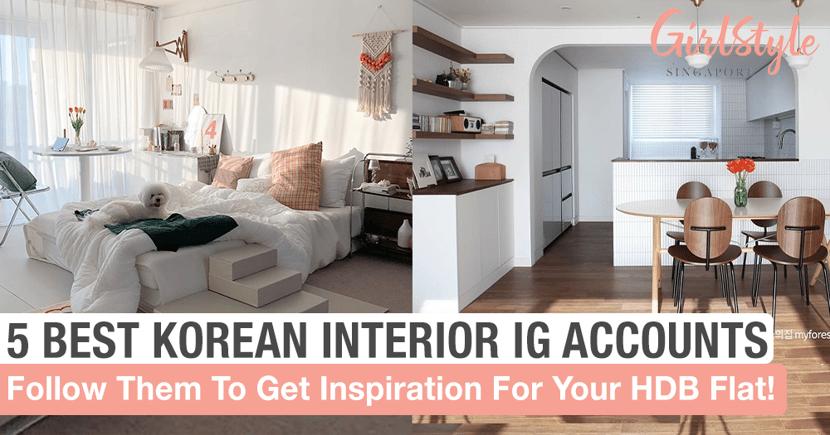Korean Interior Design Inspiration For Singapore Hdb Flats Girlstyle Singapore