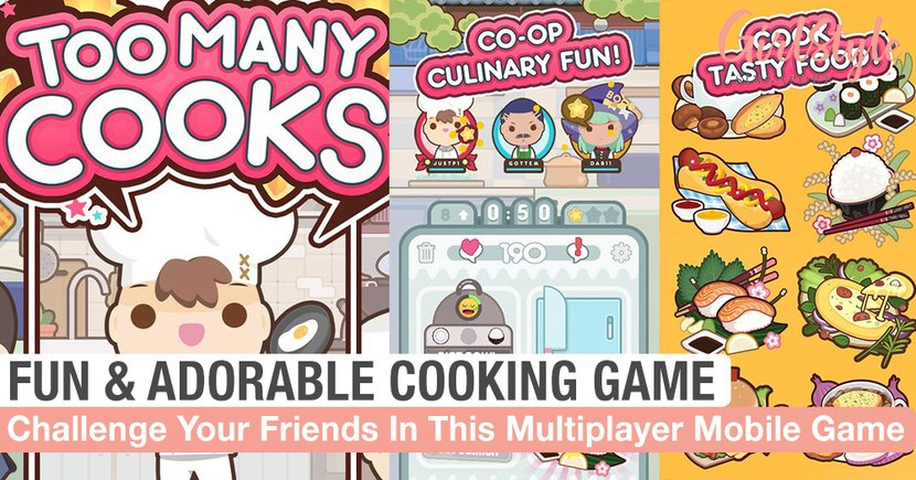 Challenge Yourself & Your Friends In This Fun Multiplayer Cooking Game Available On Mobile