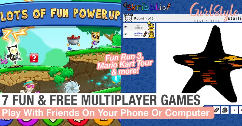 7 Fun & Free Multiplayer Games You Can Play On Your Phone Or Computer Together With Friends